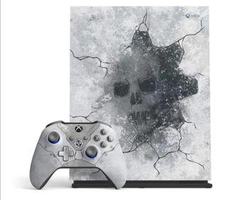 Vendo Xbox One X 1TB Edic. Especial Gears Of War 5
