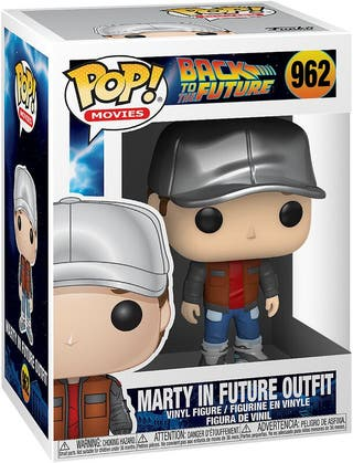 Funko Pop Marty in Future Outfit 962