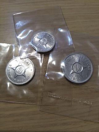 Monedas de Cuba sin circular