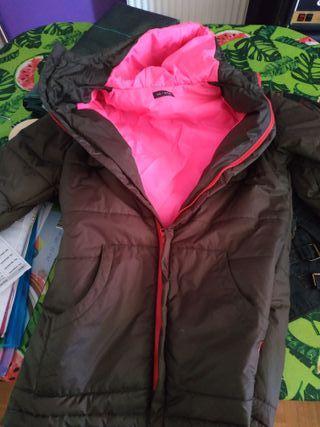 abrigo desigual mujer