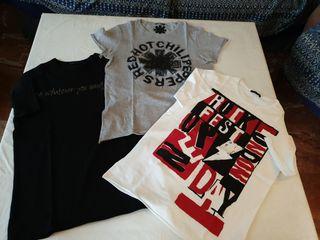 lote de camisetas de niño como nuevas
