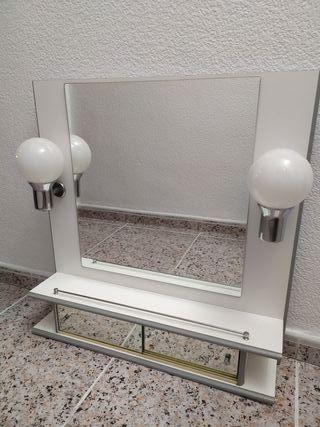 Espejo con luces para baño