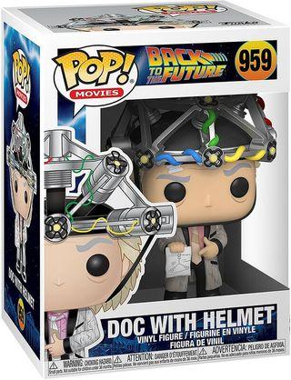 Funko Pop Doc with Helmet 959.Regreso al futuro