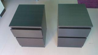 2 cómodas MALM de Ikea