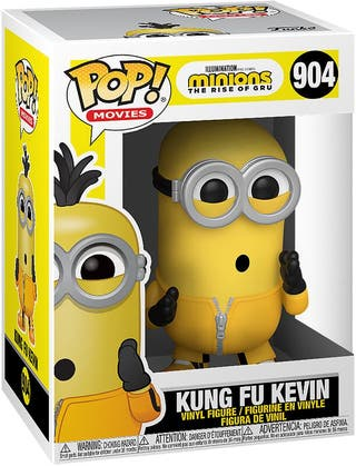 Funko Pop Kung Fu Kevin 904.Minions