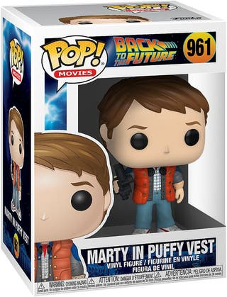 Funko Pop Marty in Puffy Vest 961