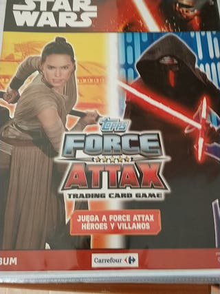 Star wars tipos force attax