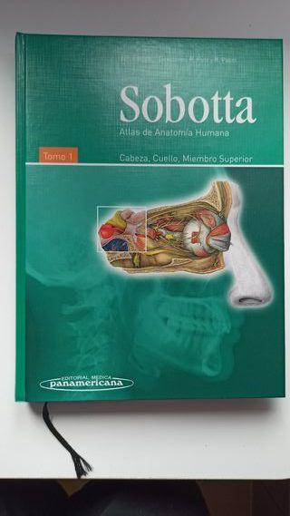 Sobotta. Atlas de Anatomía Humana. Tomo 1 y 2