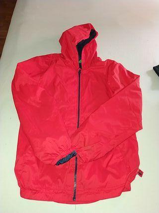chaqueta Benetton roja talla 10 11 años