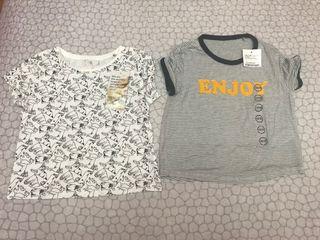 Dos camisetas niña