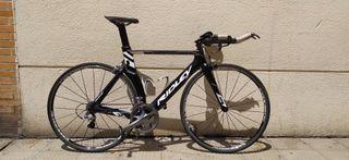 Bicicleta carretera triatlón carbono