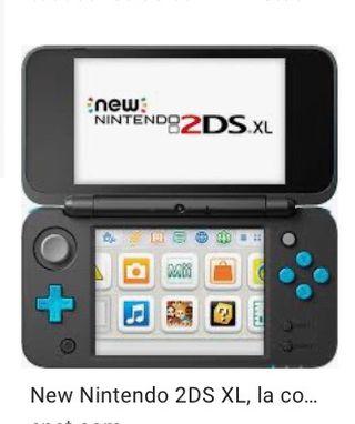 Nintendo 2ds xl Azul