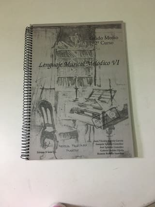 Lenguaje Musical Melódico VI