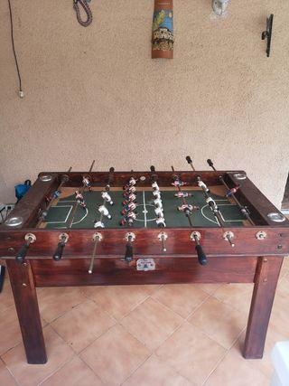 futbolin madera clásico