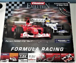 Circuito Scalextric Formula Carrera Evolution