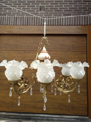 Juego de lamparas vintage