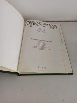 libro Dermocosmetologia practica polipiel tapa du
