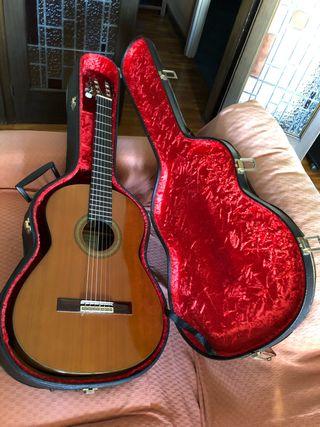 Guitarra clásica luthier Manuel Contreras