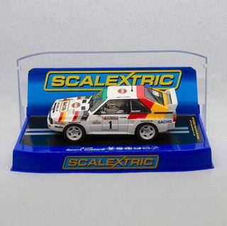 Audi Sport Quattro Mikkola Scalextric comprado UK