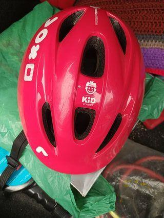 casco bici niño
