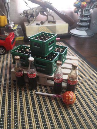 miniatura cocacola maquetas