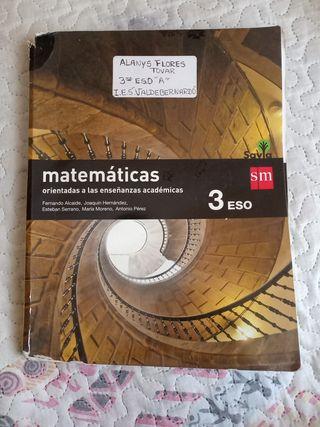 3 ESO- MATEMÁTICAS