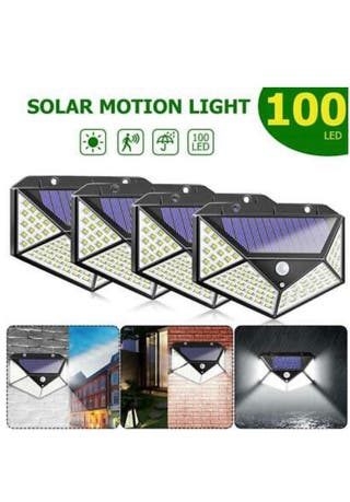 LED SOLAR MOTION SENSOR LIGHTS