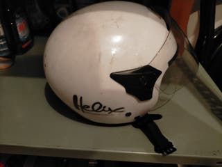 Casco moto junior
