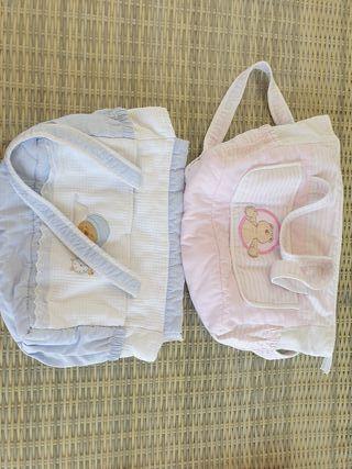 bolsas macuto para bebé