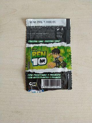 ENVOLTORIO BEN 10 CON CROMO
