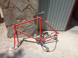 Cuadro bicicleta de carretera