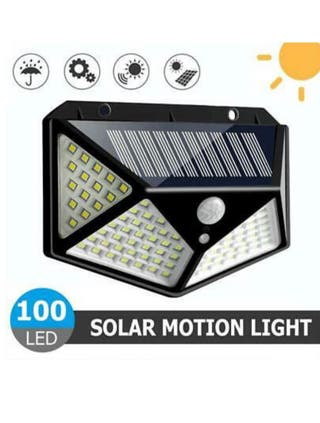 100 LED SOLAR MOTION SENSOR LIGHT