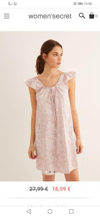 Camisón rosa Woman Secret's