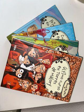 5 libros de la Colección de Torres de Malory.