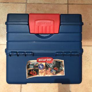 Caja de herramientas CURVER como nueva