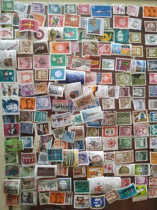 Colección sellos de Alemania.