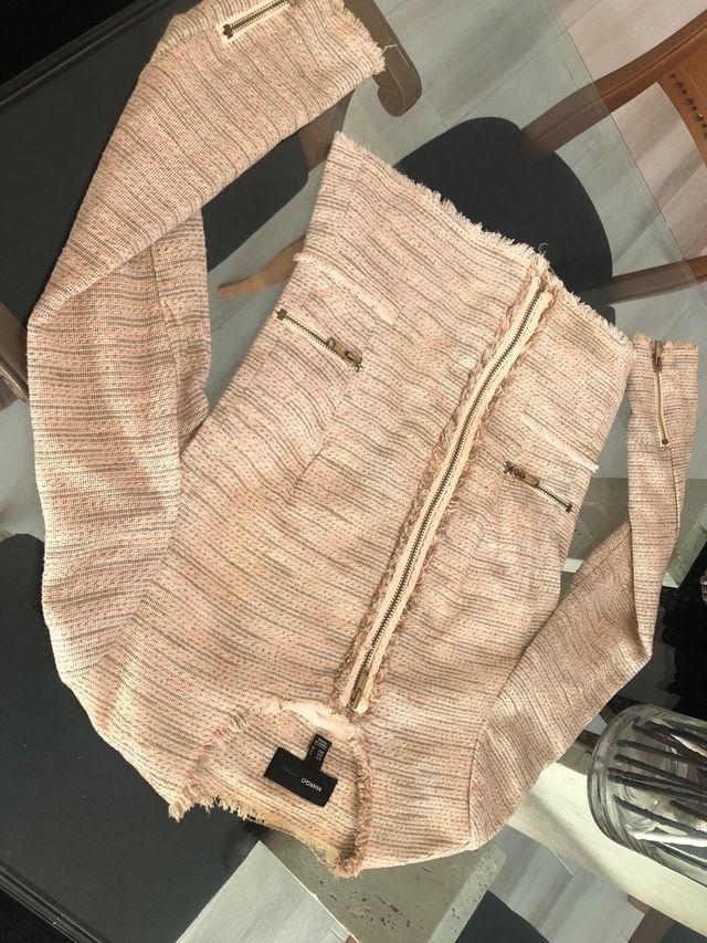 Mango chaqueta estilo Chanel