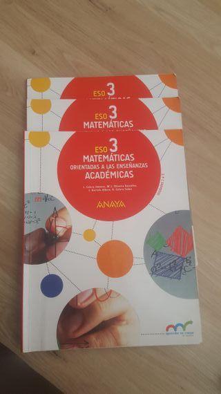 libros 3 eso matematicas