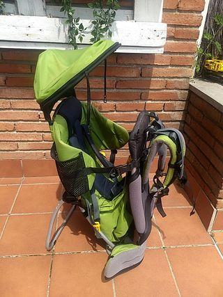 Mochila porta bebé excursiones montaña