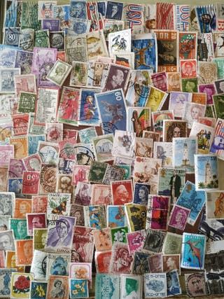 Colección sellos mundiales