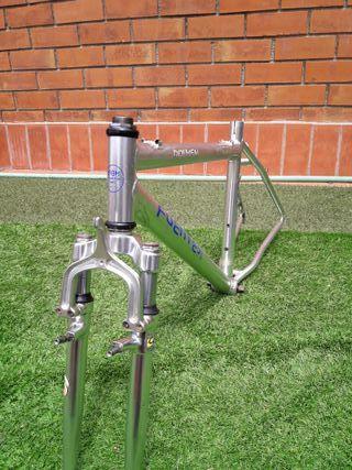"""cuadro bicicleta + horquilla aluminio 26"""""""