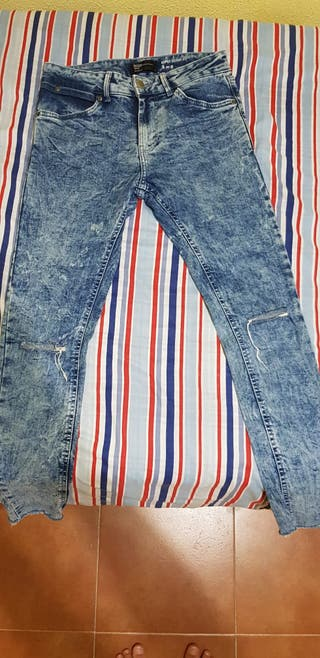Pantalon vaquero azul