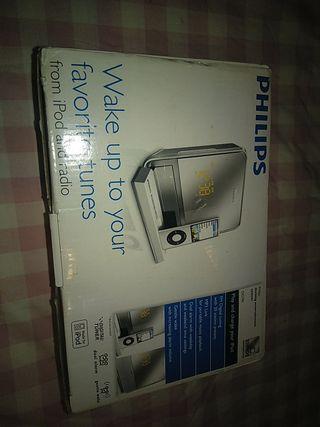 Vendo aparato para reproducir un iPod Philips