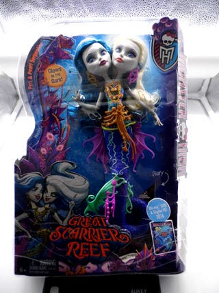 Muñeca Monster High Marinas inseparables.