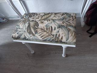 banqueta/silla de tocador