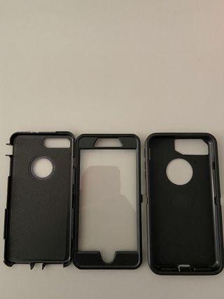 Funda de iPhone 8 Plus nueva anti golpes