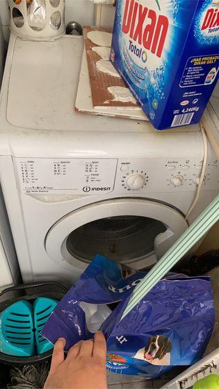 Lavadora indesit 6kg clase A