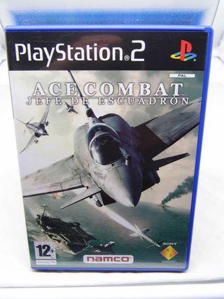 Ace Combat Jefe de escuadron PS2
