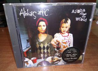 ALISHA'S ATTIC - Alisha rules the world. Cd