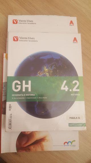libro 4 eso geografía e historia